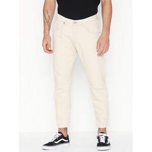 Selected Homme Slhspecial-Aldo 1470 Cream Jeans W Jeans Hvit
