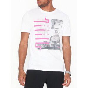 Only & Sons onsPETAL Ss Fitted Tee Camp T-skjorter og singleter Hvit
