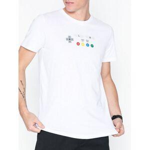Jack & Jones Jconintendo Tee Ss Crew Neck T-skjorter og singleter Hvit
