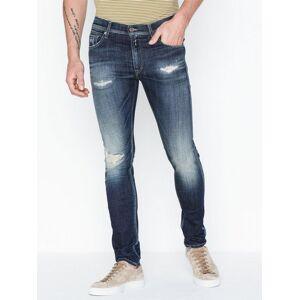 Replay JONDRILL Trousers Jeans Blå