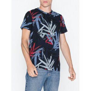 Jack & Jones Jorkalex Tee Ss Crew Neck T-skjorter og singleter Mørk blå