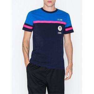 Jack & Jones Jcoleroy Tee Ss Crew Neck T-skjorter og singleter Blå