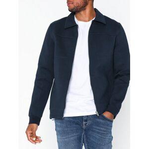 Selected Homme Slhalex Sweat Jacket B Gensere Mørk blå