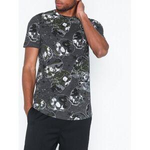 Jack & Jones Jorgreg Tee Ss Crew Neck T-skjorter og singleter Mørk grå