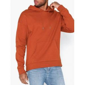 Only & Sons Onsthunder Ovz Sweat Hoodie no Prin Gensere Rød