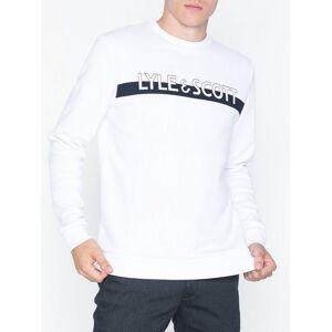 Scott Lyle & Scott Logo Crew Neck Sweatshirt Gensere White