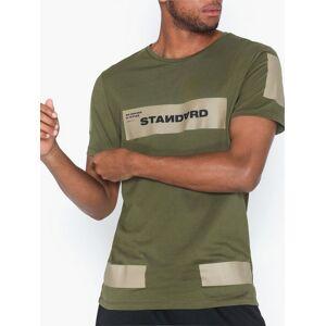 Jack & Jones Jcomono Tee Ss Crew Neck T-skjorter og singleter Grønn