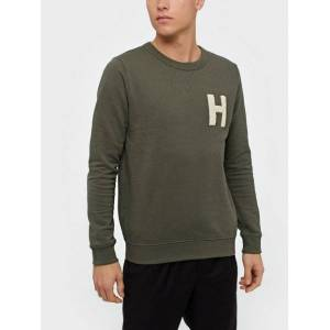 Selected Homme Slhjared Crew Neck Sweat W Gensere Beetle