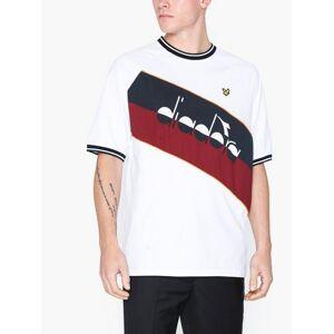 Scott Lyle & Scott Printed Colourblock T-Shirt T-skjorter og singleter White
