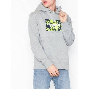 Topman Hy:Ls Gry Ascend Oh Gensere Light Grey