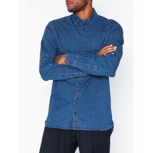 Tommy Hilfiger Organic Stretch Denim Shirt Skjorter Indigo