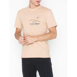 L'Homme Rouge Outsiders T-shirt T-skjorter og singleter Dusty Pink