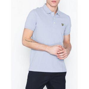 Scott Lyle & Scott Plain Polo Shirt Piké Blue Cloud