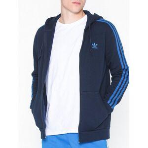 Adidas Originals 3-Stripes Fz Gensere Navy
