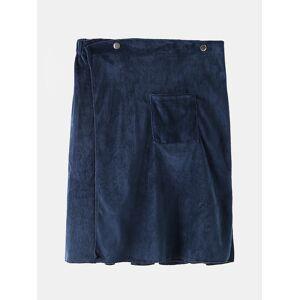 Newchic Men Bathrobe Adjustable Beach Towels Homewear Button Loungewear With Pocket