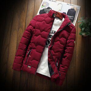 Newchic Men's Casual Thick Warm Cotton Coat Cotton
