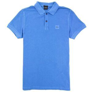 Boss Hugo Boss Prime Square Logo Polo Skjorte Blå 454 S