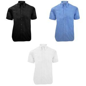 Kustom Kit Kustom orientert Kit Mens byen kort erme Business skjorte Hvit 17inch