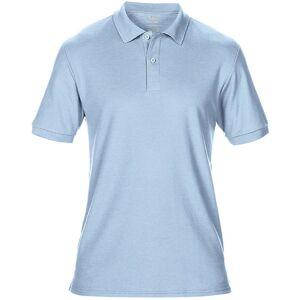 Gildan Mens DryBlend voksen Sport dobbel Pique Polo skjorte Lys blå L