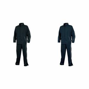 Tombo Teamsport Mens Sports foret Full treningsdrakt Navy/hvit S