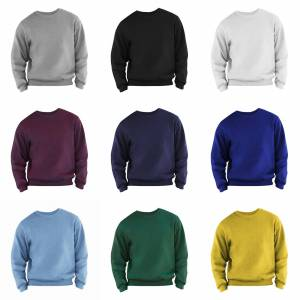 Fruit of the Loom Frukten av veven Mens satt Belcoro® garn Sweatshirt Marinen S