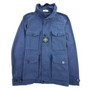 Stone Island bomull Cordura jakke blå V0028 Xl