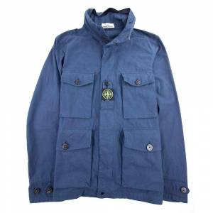 Stone Island bomull Cordura jakke blå V0028 L