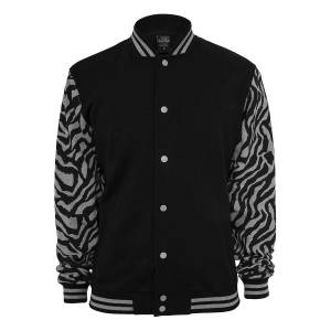 Urban Classics Klassikere 2-tone Zebra College jakke
