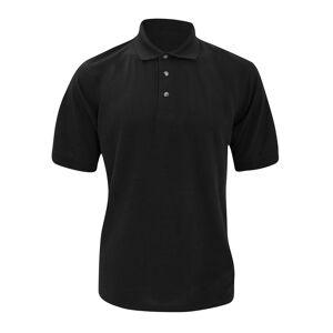 Kustom Kit Kustom orientert Kit tykk® Superwash® 60 c Mens kort ermet Polo skjorte Svart S