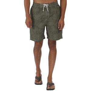 Regatta Mens Hadden Printed Quick Dry Summer Board Shorts Cowhide XL