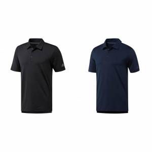 Adidas Mens Ultimate 365 Polo skjorte Svart XS