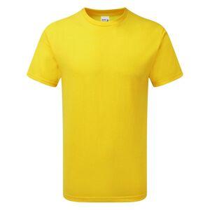 Gildan Mens Hammer tungvekt t-skjorte Tusenfryd M