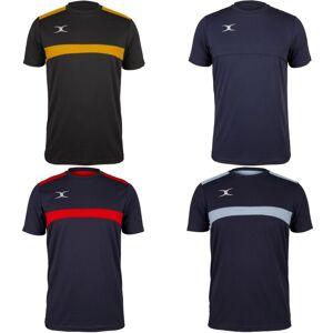 Gilbert Mens Foton t-skjorte Mørk Navy/himmelblå S