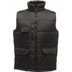 Regatta Mens kjendis Ripstop Bodywarmer vest TRA803 Black