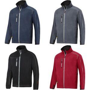 Snickers Mens AIS Workwear Fleece jakke Svart L