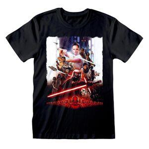 Star Wars Unisex Voksen Plakat T-skjorte Svart M