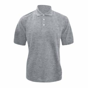 Kustom Kit Kustom orientert Kit tykk® Superwash® 60 c Mens kort ermet Polo skjorte Lyng grå L
