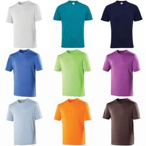 Just Cool Bare kult Mens ytelse ren t-skjorte Elektrisk gul XS