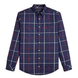 Joules Joule joule Welford Mens langermet klassisk passer sjekk skjorte s/s 19 Navy Multi-Sjekk L