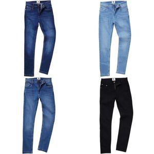 AWDis så Denim Mens Max Slim Jeans Mørk blå vask 36L