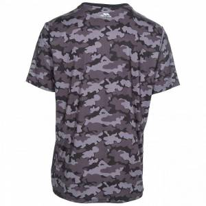 Trespass Overtredelse Mens Ralton kort erme aktive t-skjorte Camo Print XXS