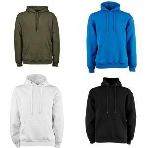 Tee Jays Mens hette bomull blanding Sweatshirt Marineblå XL