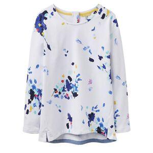 Joules Joule Clemence Crew hals damer Sweatshirt (W) Hvit blomster Uk8 Eu36 Us4