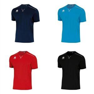 Errea Unisex kort erme Everton fotball skjorte Cyan M