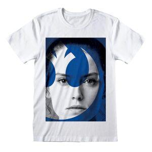 Star Wars Unisex Voksen Rey T-skjorte Hvit L
