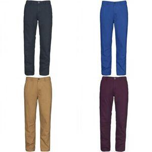 TRESPASS Overtredelse Mens slekten klassiske Casual bukser Granitt XL