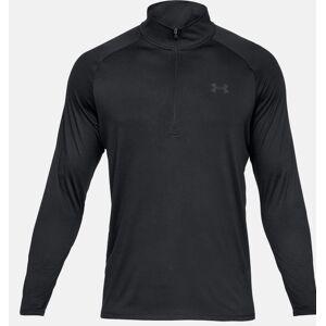 Under Armour Menns Tech T-skjorte Svart/trekull grå S