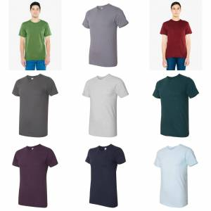 American Apparel Mens Fine Jersey Tee Turkis M