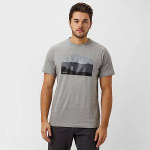 Berghaus Ny grå Berghaus menns Trek kort ermet T-skjorte M