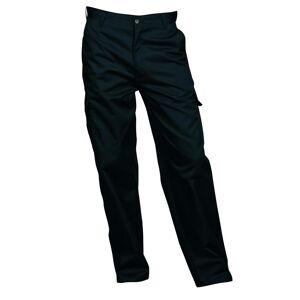Portwest Mens bekjempe Workwear bukser Svart 42/R